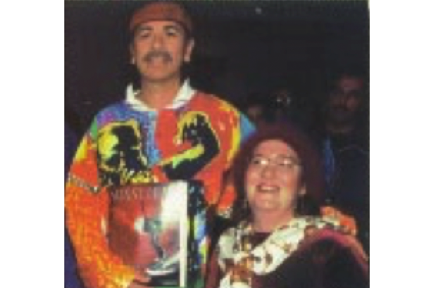 Carlos Santana and Lady Lori