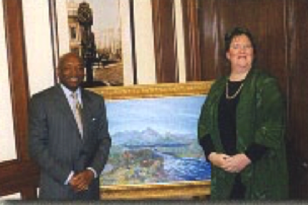 Mayor Willie brown with Lady Lori